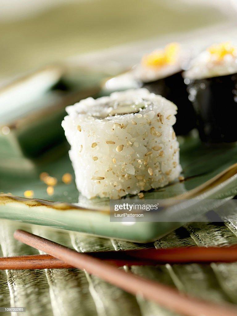 Sushi, California Roll : Stock Photo