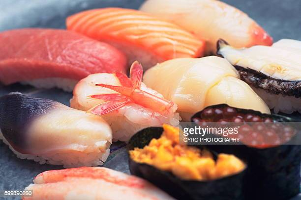 Sushi, close up