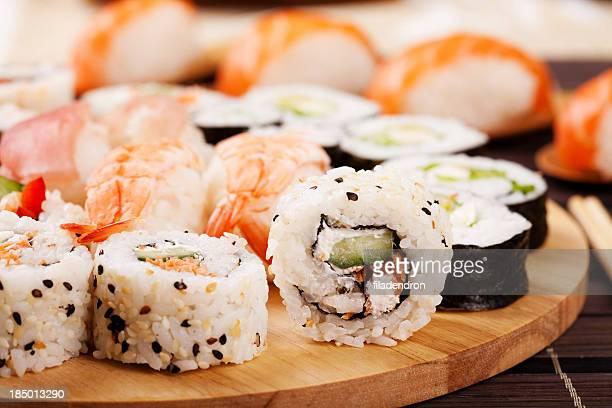 寿司富有柿