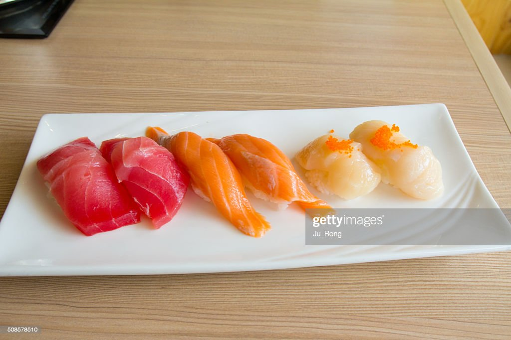 Sushi-Teller : Stock-Foto