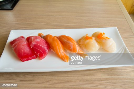 Assiette de sushis : Photo