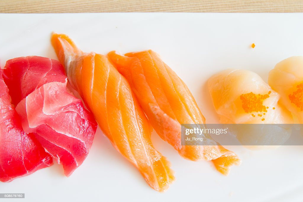 Sushi plate : Stock Photo