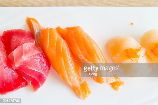 Assiette de sushis : Photo