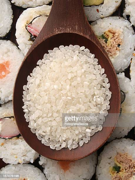 寿司飯とロール