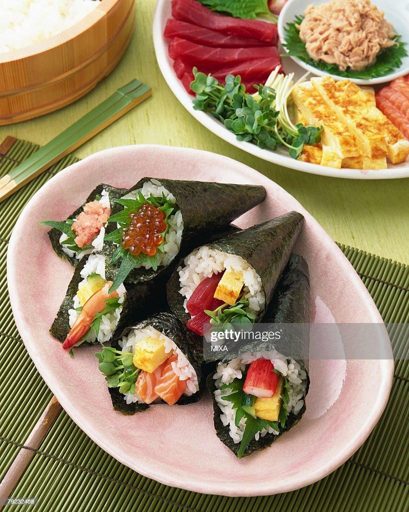 Sushi rolls : Stock Photo