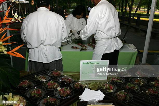 Sushi Samba Display attends A Magical Evening with New York's Finest Chefs at 'Taste of Summer' A Benefit for the Central Park Conservancy at...