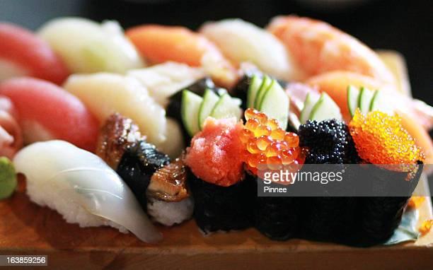 Sushi set, Saigon, Vietnam.