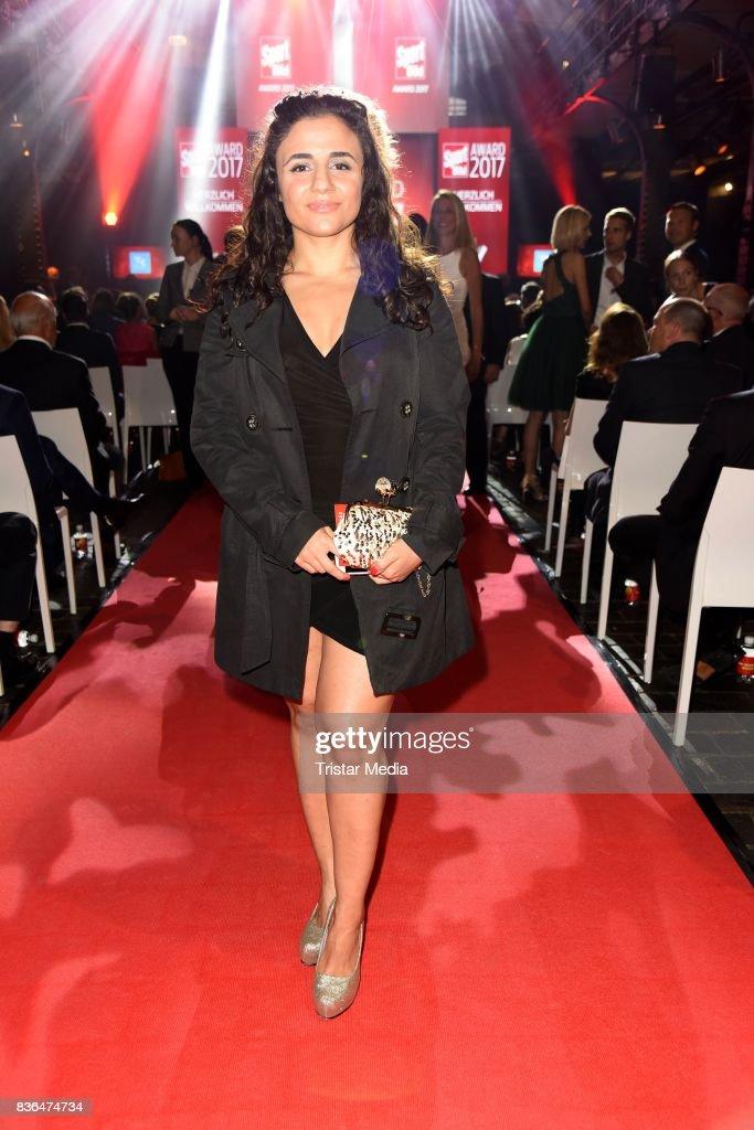 Susianna Kentikian attends the Sport Bild Award on August 21, 2017 in Hamburg, Germany.