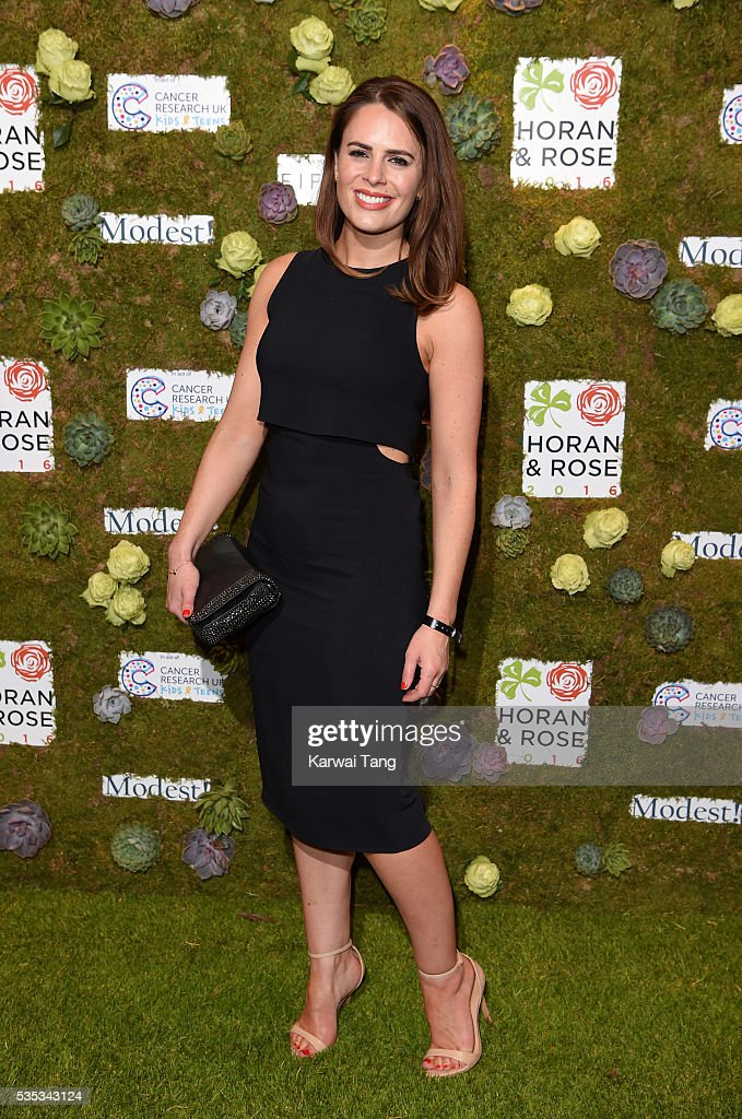 <a gi-track='captionPersonalityLinkClicked' href=/galleries/search?phrase=Susie+Amy&family=editorial&specificpeople=212968 ng-click='$event.stopPropagation()'>Susie Amy</a> arrives for The Horan And Rose event at The Grove on May 29, 2016 in Watford, England.
