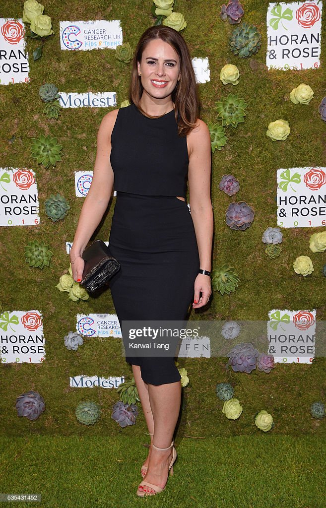 Susie Amy arrives for The Horan And Rose event at The Grove on May 29, 2016 in Watford, England.
