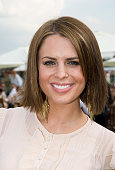 Susie Amy attends the Cartier International Polo Match at Guards Polo Club on July 27 2008 in Windsor England