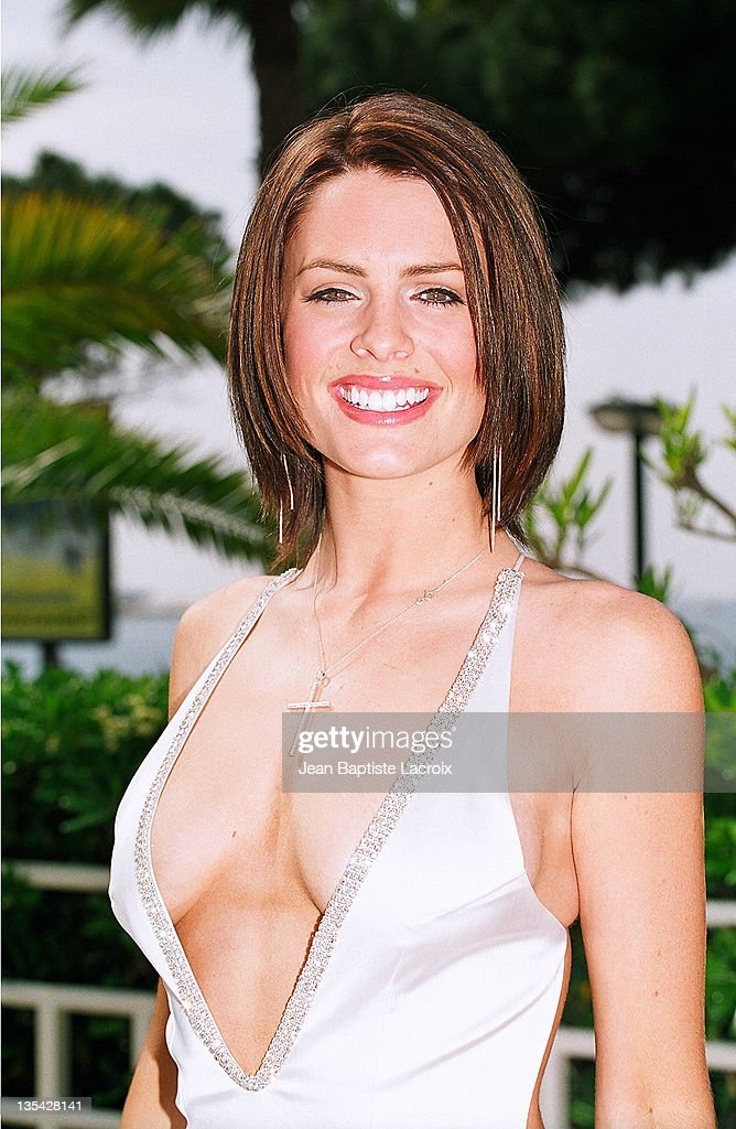 Susie Amy during MIPTV 2002 File Photos at Martinez Hotel in Cannes France