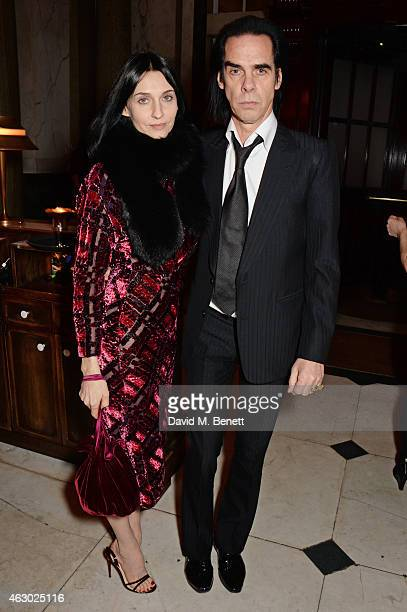 Susie Bick and Nick Cave attend The Weinstein Company Entertainment Film Distributor StudioCanal 2015 BAFTA After Party in partnership with Jimmy...
