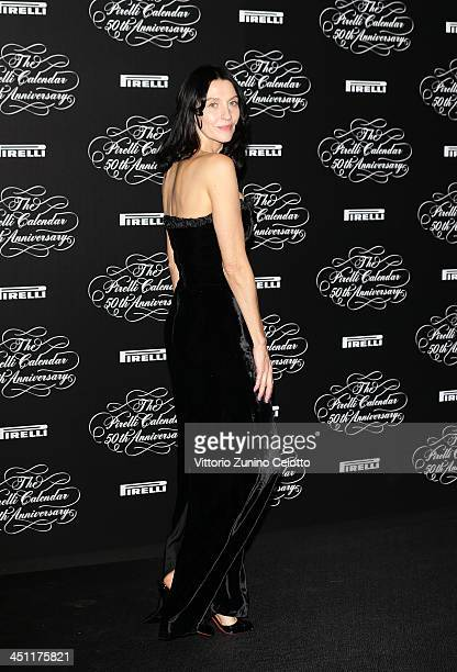 Susie Bick attends the Pirelli Calendar 50th Anniversary event on November 21 2013 in Milan Italy