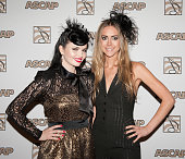 Susie Brown and Danelle Leverett of Jane Dear Girls attend the 49th Annual ASCAP Country Music Awards at the Gaylord Opryland Resort on November 6...