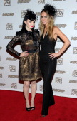 Susie Brown and Danelle Leverett of the The JaneDear Girls attend the 49th Annual ASCAP Country Music Awards at the Gaylord Opryland Resort on...
