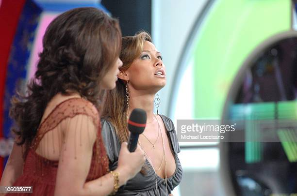 Susie Castillo and and MTV VJ Vanessa Minnillo
