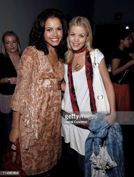 Susie Castillo and Bree Williamson during Teen People Present 'Best of Fall 2006' at Industria in New York City New York United States