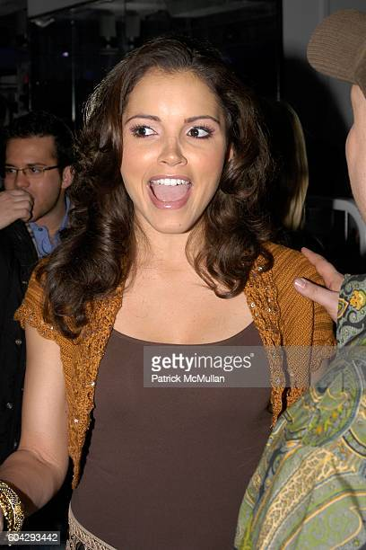 Susie Castillo attends Aspen Fitness Grand Opening Celebration at Takashimaya Building on March 1 2006 in New York City