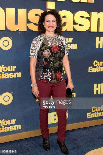 Susie Essman attends the 'Curb Your Enthusiasm' season 9 premiere at SVA Theater on September 27 2017 in New York City