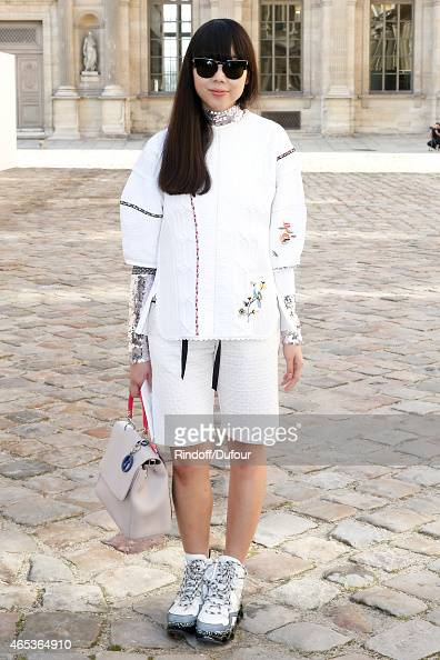 Susie Lau attends the Christian Dior show as part of the Paris Fashion Week Womenswear Fall/Winter 2015/2016 on March 6 2015 in Paris France