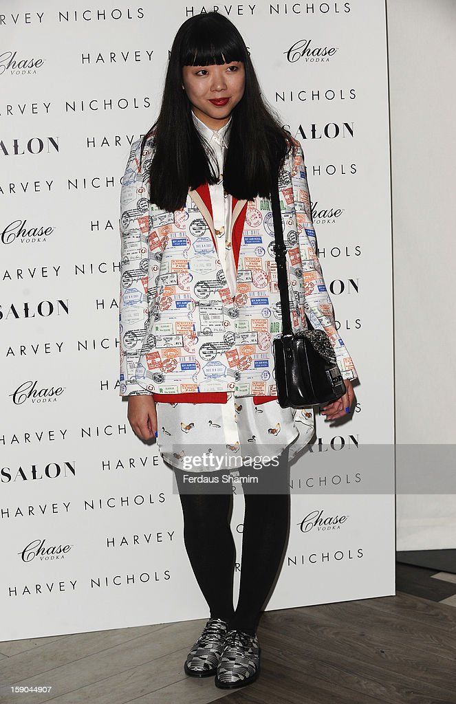 Susie Lau attends the launch of 1205 Paula Gerbase Hosted By Harvey Nichols ahead of the London Collections: MEN AW13 at on January 6, 2013 in London, England.