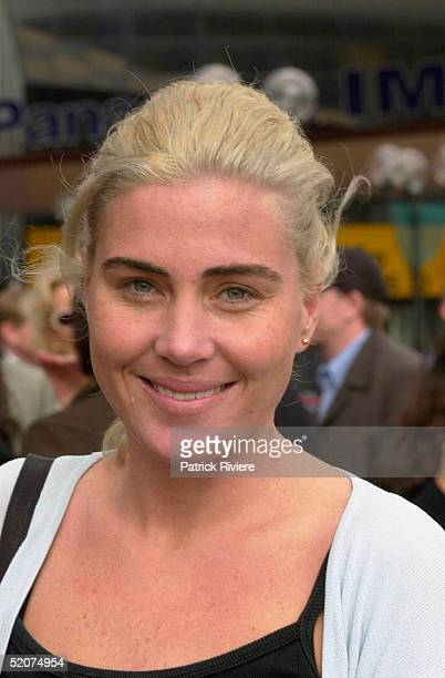 Susie Maroney pictured during the launch of the Max Markson book 'Show Me The Money' at Darling Harbour in July 2000 in Sydney Australia