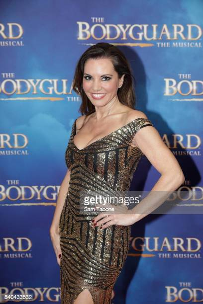 Susie Mclean during a production media call for The Bodyguard at Regent Theatre on August 29 2017 in Melbourne Australia