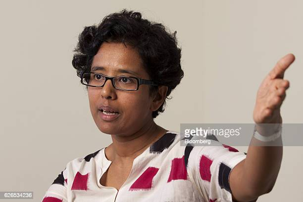 Susmita Mohanty cofounder and chief executive officer of Earth2Orbit Consulting Pvt speaks during an interview in Bangalore India on Thursday Aug 18...
