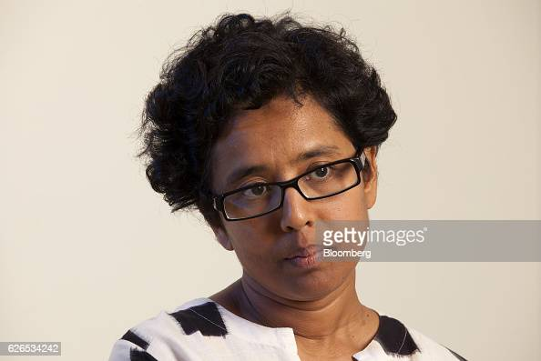 Susmita Mohanty cofounder and chief executive officer of Earth2Orbit Consulting Pvt listens during an interview in Bangalore India on Thursday Aug 18...