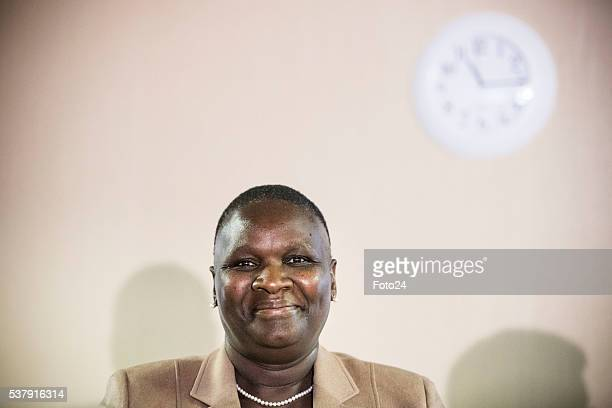 Suspended National Police Commissioner Riah Phiyega during the Claassen Commission of Inquiry on June 01 2016 in Pretoria South Africa During the...