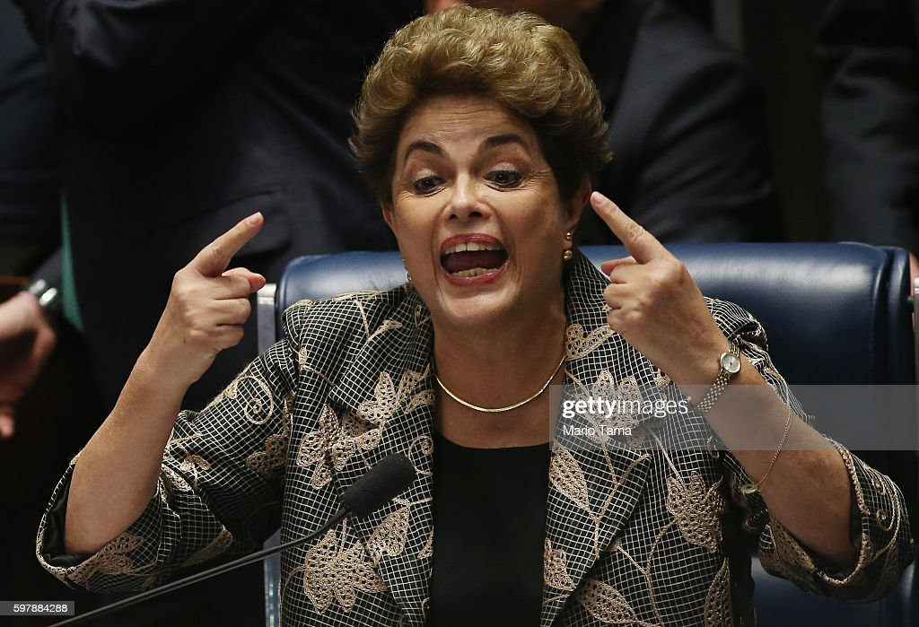 Impeachment Trial For Dilma Rousseff Continues In Brasilia