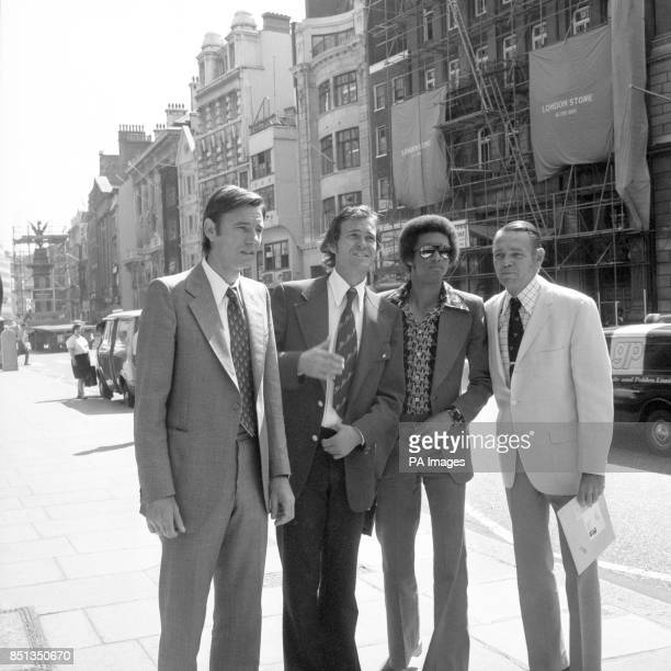 Suspended Yugoslav tennis star Nikki Pilic in the Strand when the highcourt hearing of his legal battle to decide wether he can play in this year's...