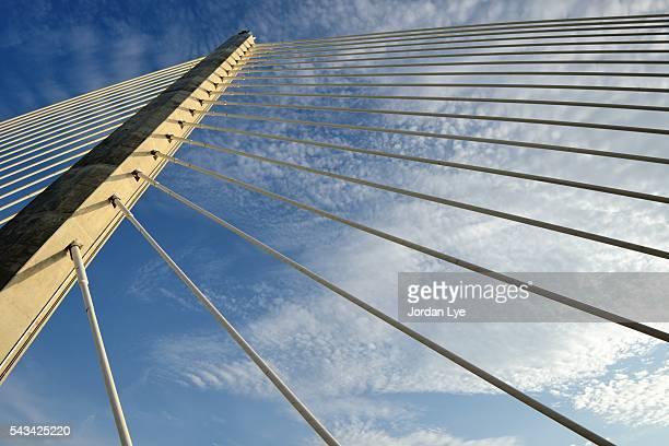 suspension bridge pillar