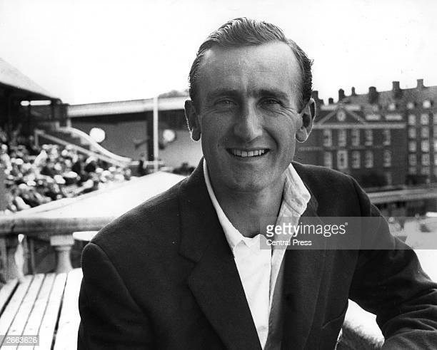 Sussex and England cricket player Ted Dexter
