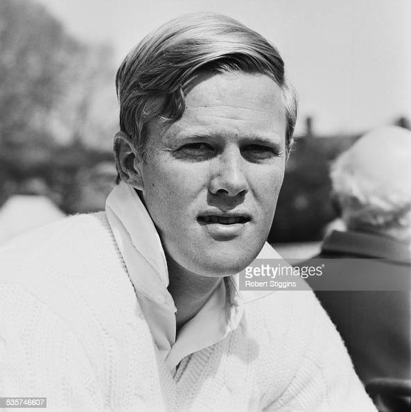 Sussex County Cricket Club player Tony Greig 1967