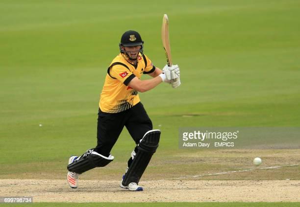 Sussex's Philip Salt in batting action during his innings