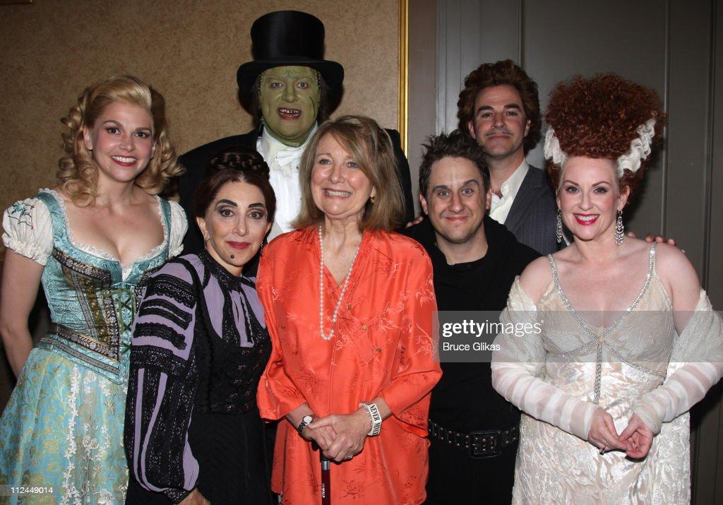 Celebrities Visit Broadway