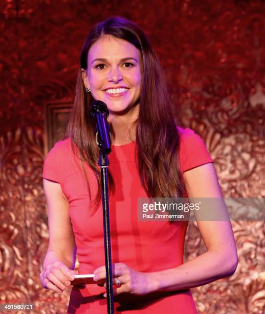Sutton Foster attends 2014 New York Drama Critics' Circle Awards at 54 Below on May 16 2014 in New York City