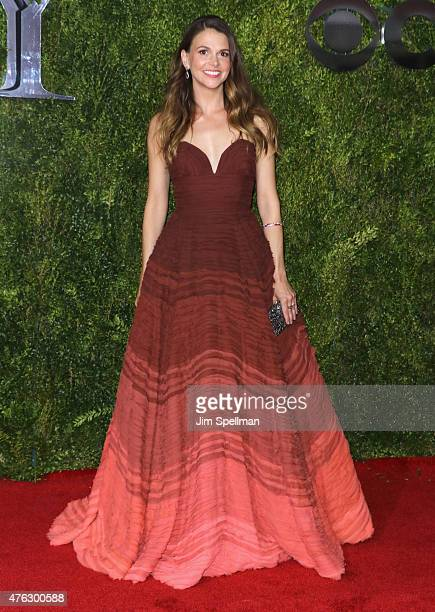 Sutton Foster attends the American Theatre Wing's 69th Annual Tony Awards at Radio City Music Hall on June 7 2015 in New York City
