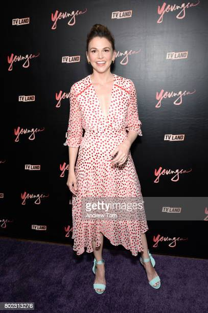 Sutton Foster attends the 'Younger' season four premiere party on June 27 2017 in New York City