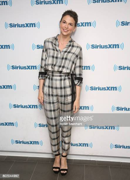 Sutton Foster visits at SiriusXM Studios on June 27 2017 in New York City