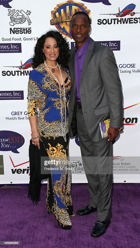 Suzan Brittan Gault (L) and former NFL football player Willie Gault attend the 2013 Jenesse Silver Rose Awards Gala and Auction at Vibiana on April 6, 2013 in Los Angeles, California.