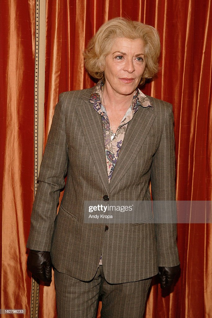 Suzanne Bertish attends the 'Breakfast At Tiffany's' Press Preview at Cafe Carlyle on February 27, 2013 in New York City.