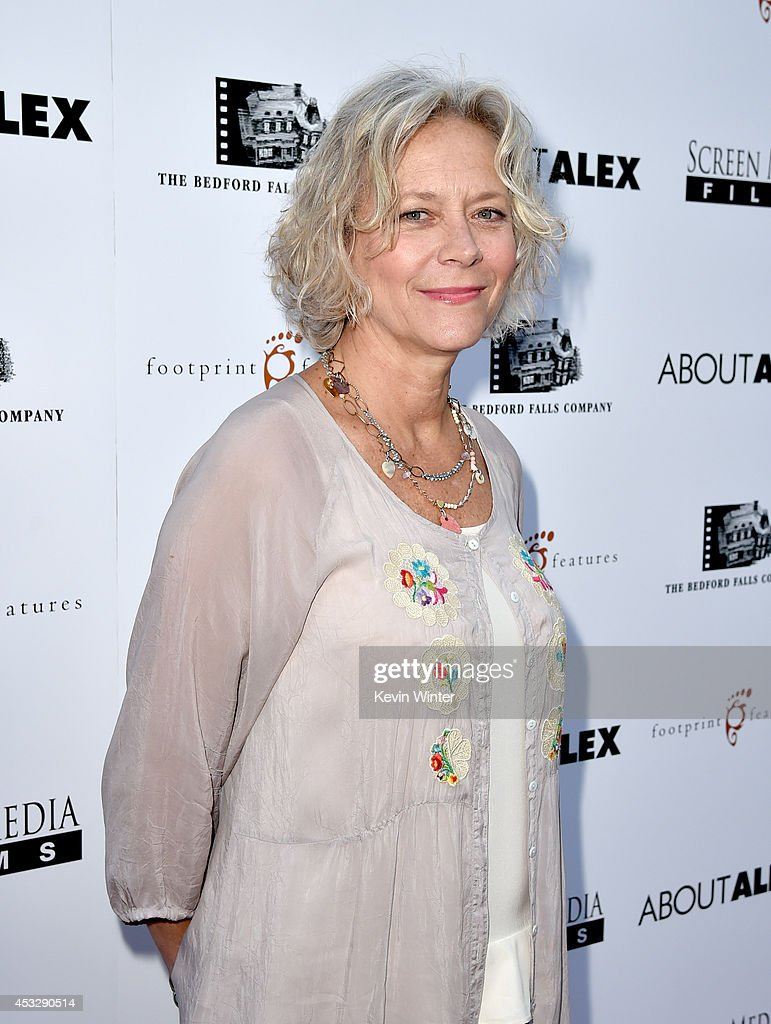 Suzanne Blech, President, New Screen Media Films arrives at the premiere of 'About Alex' at the Arclight Theatre on August 6, 2014 in Los Angeles, California.