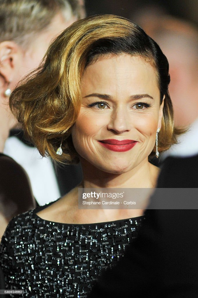 Suzanne Clement attends the 'Mommy' premiere during the 67th Cannes Film Festival