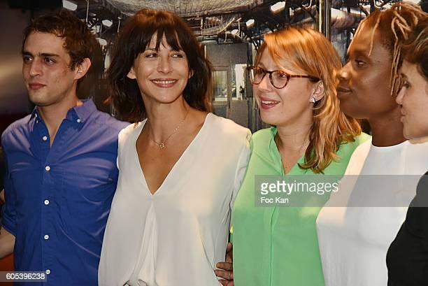 Suzanne Clement Marie Sohna Conde Audrey Estourgo Sophie Marceau and Benjamin Siksou attend 'La Taularde' Paris Premiere At UGC Cine Cite Les Halles...