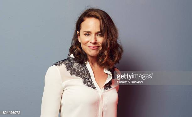 Suzanne Clement of Ovation's 'Versailles' pose for a portrait during the 2017 Summer Television Critics Association Press Tour at The Beverly Hilton...