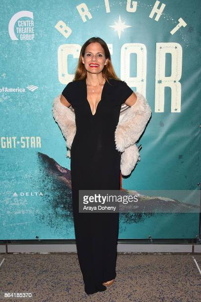 Suzanne Cryer attends the opening night of 'Bright Star' at Ahmanson Theatre on October 20 2017 in Los Angeles California