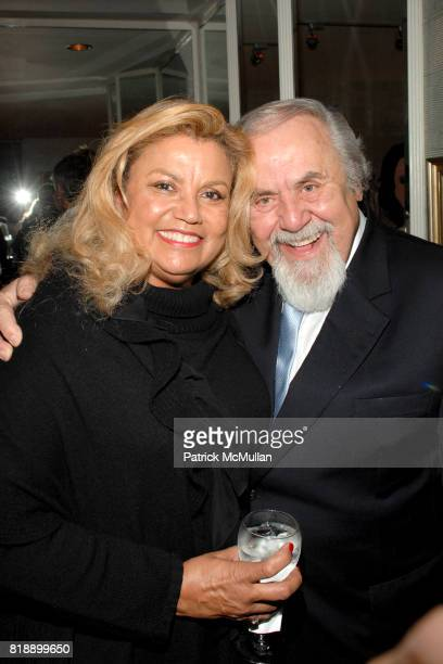 Suzanne De Passe and George Schlatter attend Mayor Antonio Villaraigosa celebrates Nikki Haskell's Birthday at Sierra Towers on May 17th 2010 in West...